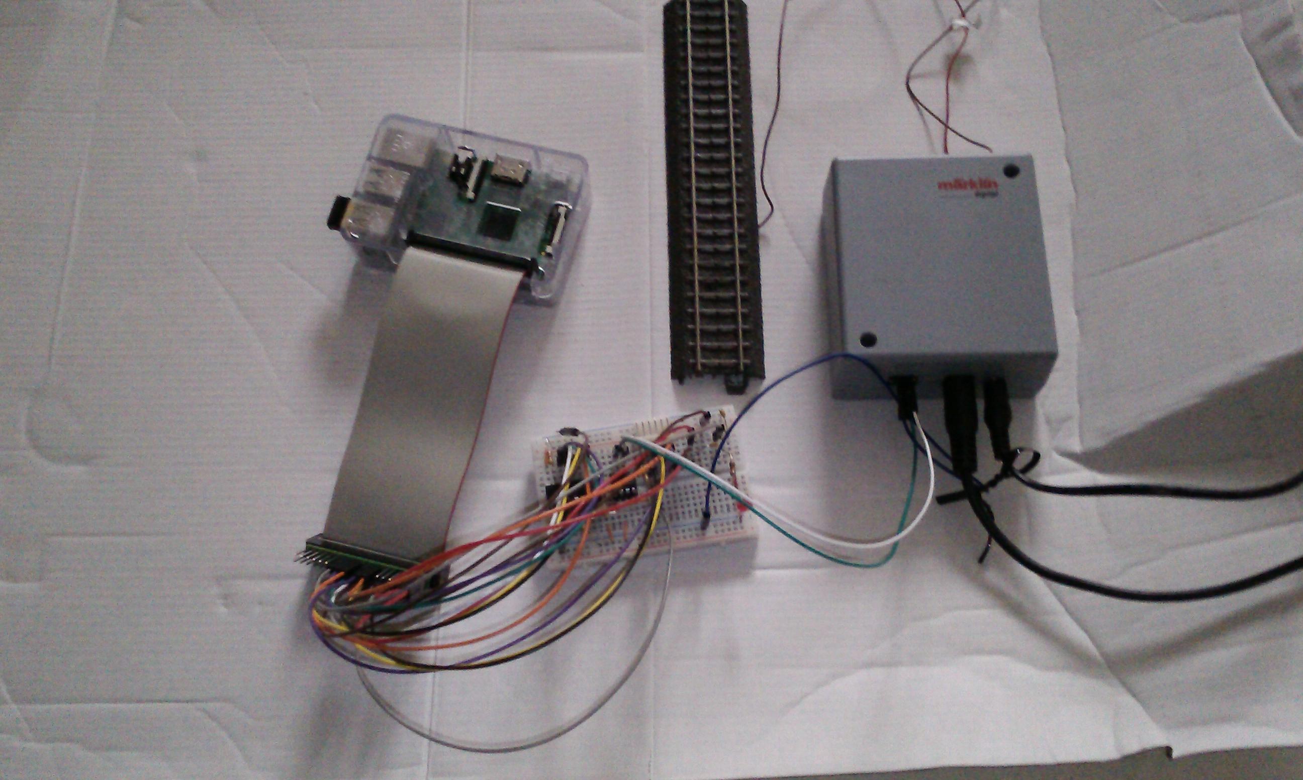 Maerklin Digital Steuerung mit Raspberry Pi ohne CS2