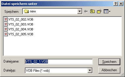 how to join vob files together