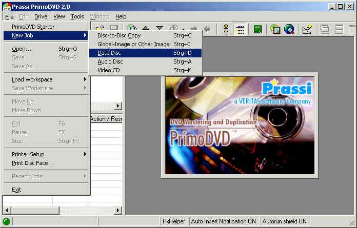 prassi primo dvd 2.0